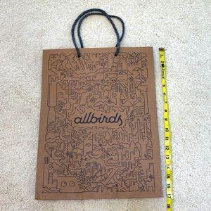 Allbirds shopping bag